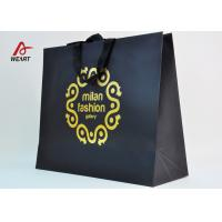 Quality Cotton Ribbon Personalized Wine Bags Paper Material , Custom Business Shopping for sale