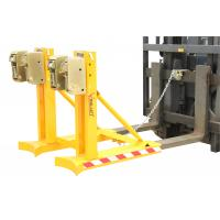Drum Lifting Equipment Clamp Attachment With Double Grippers In One Supporting Bar Manufactures