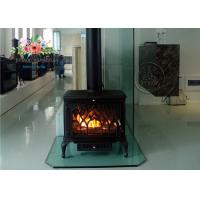 Fashion Freestanding Wood burning Fireplace Inserts 713mm * 687mm * 455mm Manufactures