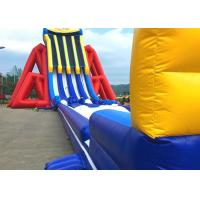 Custom Giant Inflatable Slide With Lovely Theme Hand Painting Manufactures