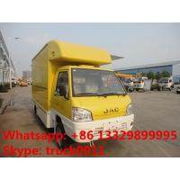 JAC mini fast food truck,mobile food truck,fast food van 1.5 ton on sale, JAC brand gasoline ice-cream truck for sale Manufactures