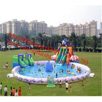 water park equipment for sale water park equipment price large inflatable pool slide Manufactures