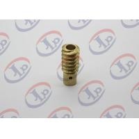 0.01KG CNC Precision Machined Parts, Small Brass Hollow Bolt For Electronic Equipments Manufactures