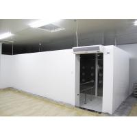 90 Degree Turn Personnel Air Shower Tunnels , Clean Room Equipments With Painted Steel Material Manufactures