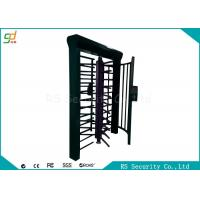 High Security Full Height Turnstiles Automatic Security Turnstile Gates Manufactures