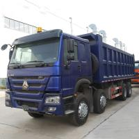 Big SINOTRUK HOWO 371 8x4 Heavy Duty Dump Truck With 12 Wheel For 20 Cubic Meter Manufactures
