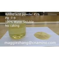 Factory Supply Compound Amino Acid Powder 45% PH7-9 100% Water Soluble No Caking Manufactures