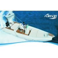 Customized Inflatable RIB Boats Heavy Duty Inflatable Boat For Summer Manufactures