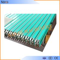 PVC Enclosed Conductor Rail System Self - Extinguishing Green Boxline Manufactures
