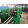 W shape Highway Guardrail Roll Forming Machine , Guardrail Roll Forming Machine1.5'' chain Manufactures