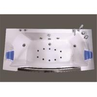 Quality Retangle Jacuzzi Whirlpool Bath Tub Freestanding With 10 Small Jets for sale