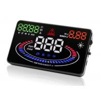 "E300 5.5 ""  Obd2 Heads Up Display MPH KMH OverSpeed TEMP Warning Speedometer Manufactures"