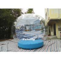 OEM PVC Tarpaulin PVC Dome Inflatable Snow Globe for Christmas Decoration Manufactures