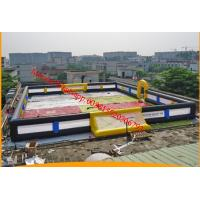 Quality inflatable football pitch inflatable soccer pitch inflatable football field for sale