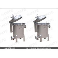 China High precision Bag Filter Housing single bag stainless steel liquid filtration on sale