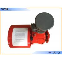 Red Painting Cable Reeling Drum With Motor Horizontal/ Vertical Installation Type Manufactures