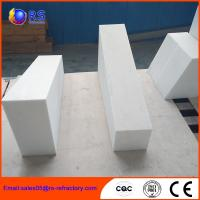 High Temperature Stability Corundum Brick / Durable Heat Resistant Bricks Manufactures