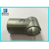 High Precision Aluminum Tubing Joints For PE Pipe / Aluminum Pipe  Zine Alloy Material Manufactures