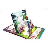 Coloring 3D Pop Up Book Printing Story Book / Board Book Printing Service Manufactures