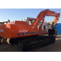 6 Cylinders Second Hand Earthmoving Equipment  Hitachi Ex200 - 1 Original Turbo Manufactures