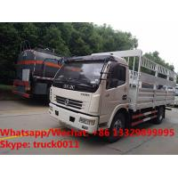 Quality Factory sale high quality Cheapest price Dongfeng 4x2 6ton gas cylinder transport truck, gas canister carrying vehicle for sale