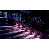 Quality 3 LED Solar Deck Lights Waterproof Super Bright LED Deck Stair Lights for sale