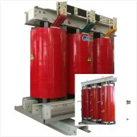 Fireproof Air Cooled Transformer 6.6 KV - 800 KVA With Silicon Steel Sheet Core Manufactures
