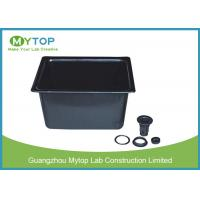 Black High Grade PP Laboratory Fittings Corrosion Resistant Laboratory Sinks Manufactures