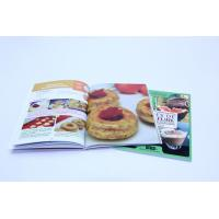 Quality A4 Full Color Cookbook Printing With Spot UV , Perfect binding for sale