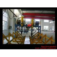 Heavy Duty SAW H Beam Welding Machine LHA Gantry Type 5.5m Rail Span With Moving Trolley Manufactures