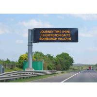 Fixed Electronic LED Traffic Display Full Color  Brightness ≥ 7500 cd/sqm Manufactures