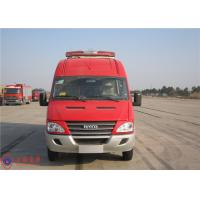 115KM/H Emergency Fire Command Vehicles China IV Emission Standard Manufactures