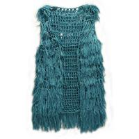 Autunm Blue Polyester Strap Net Vest casual wear for ladies Manufactures