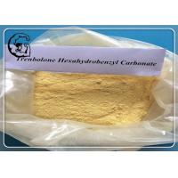 Parabolan Trenbolone Yellow Trenbolone Hexahydrobenzyl Carbonate Powder Manufactures