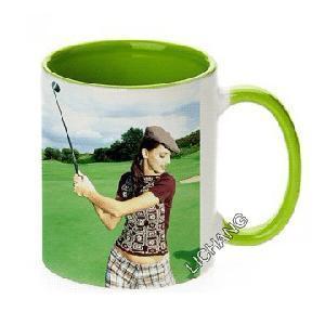 Light Green Sublimation Mug Manufactures