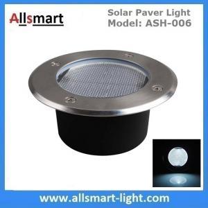 Buy cheap Φ130x60mm Round Solar Paver Lights Maintenance Free Solar Brick Lights Solar from wholesalers
