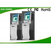 Wireless Bill Payment Kiosks At Airports Motion Sensor Barcode Scanner Included Manufactures