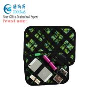Eletronic GRID Gadget Organizer , Travel Cable Gadget Organiser Bag Manufactures