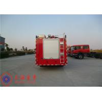 HOWO Chassis Water Tender Fire Truck With Manual 9JS119 Gearbox Model Manufactures