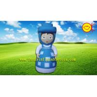 Attractive Little Girl Advertising Inflatable , Cartoon Inflatable Outdoor Decorations Manufactures