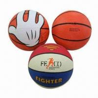 Mini Rubber Basketballs of CE Standard with Different Colors Printing, Suitable for Kids Playing Manufactures