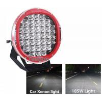 Super Bright 185W high power led work light, 9 inch CREE ARB Spot 185w led driving light Manufactures
