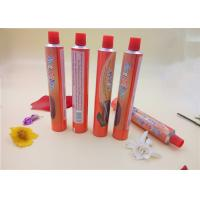 Cream Aluminum Packaging Tubes , Food Squeeze Tubes With Printing Manufactures