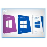 Original Windows 8.1 64 Bit Product Key Oem Package With DVD Key Card Manufactures