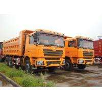 6 X 4 Shacman 10 Wheel Dump Truck , Heavy Equipment Dump Truck For Mineral Manufactures