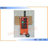 Heavy Industrial Wireless Hoist Remote Control Power Switch Single Speed F21-E1B Manufactures
