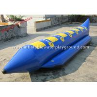 Commercial Grade Inflatable Towables Boat Tubes With Durable Handles Manufactures