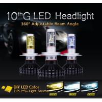 Factory offer H4 hi/lo beam waterproof car led headlight easy installation Manufactures