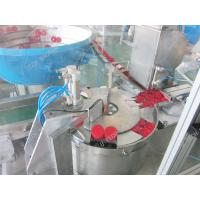 Edible Oil medicine ring Bottle Cap Sealing Machine Caps Assembly Support Manufactures