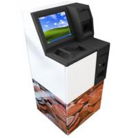 China High Definition Multi Function Kiosk Automation Coins Collection Counter on sale